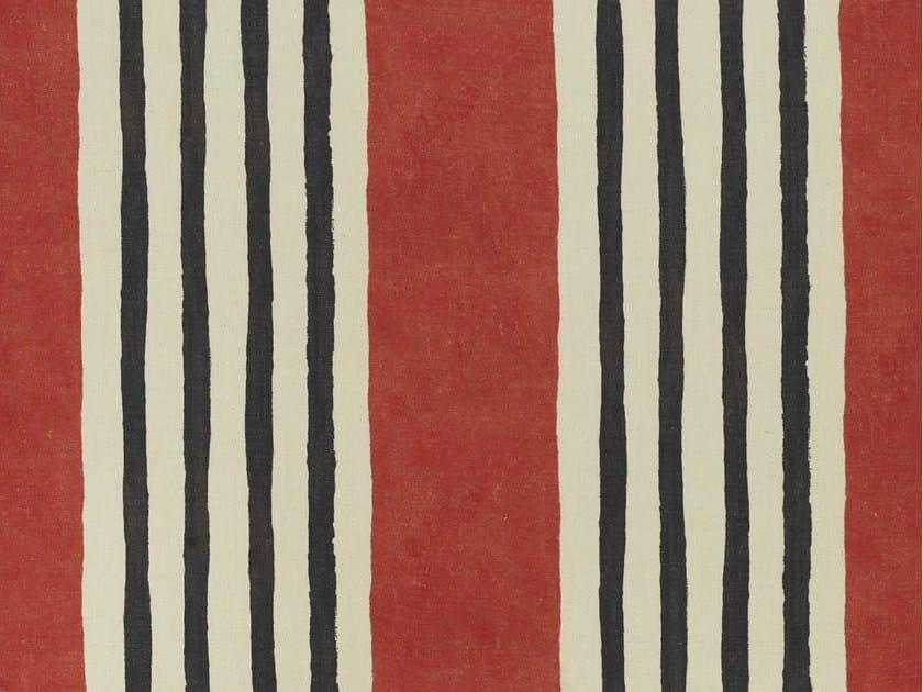 Striped jute fabric RATAPLAN by Dedar