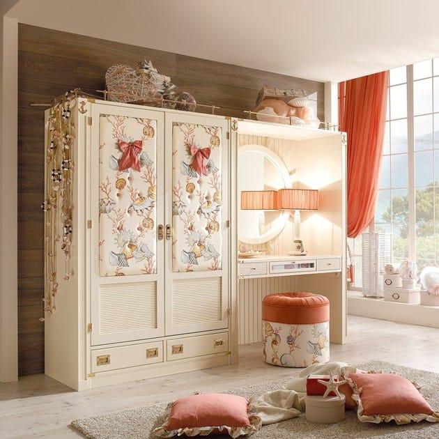 Sectional wardrobe with drawers PASSEPARTOUT   Wardrobe by Caroti