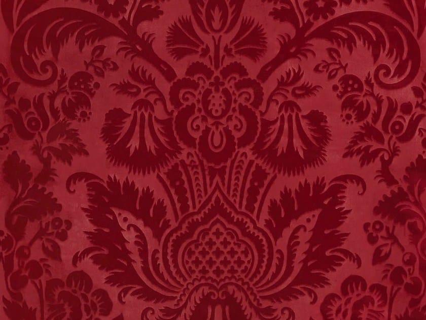 Trevira® CS fabric with floral pattern EDEN by Dedar