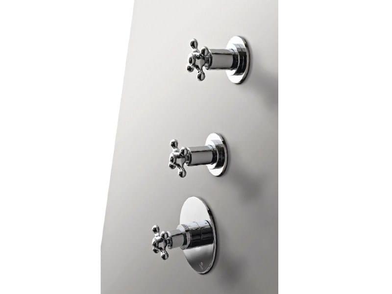3 hole shower tap 800 | 3 hole shower tap by ZAZZERI