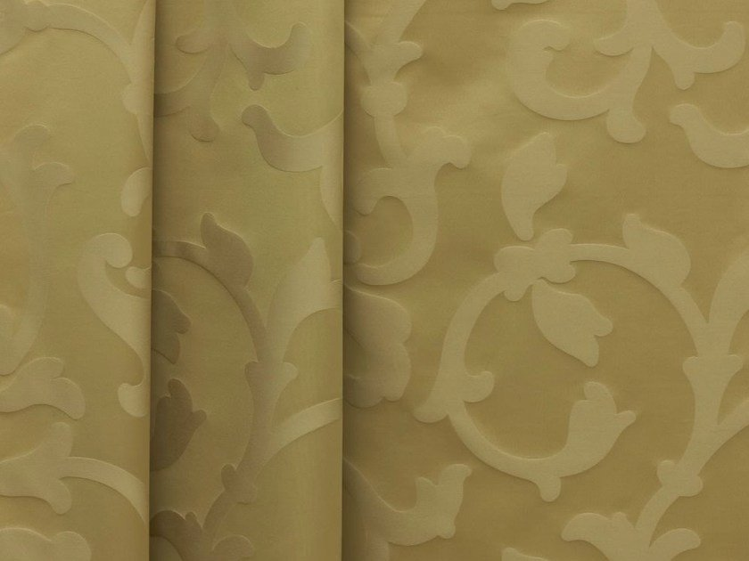 Fire retardant high resistance Trevira® CS fabric with floral pattern FLORAL by Dedar