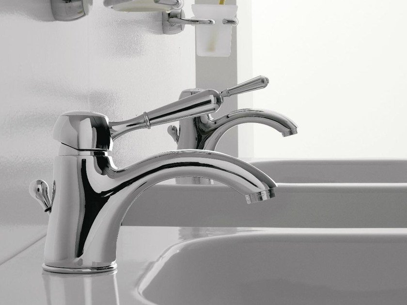 Single handle 1 hole washbasin mixer 900 | 1 hole washbasin mixer by ZAZZERI