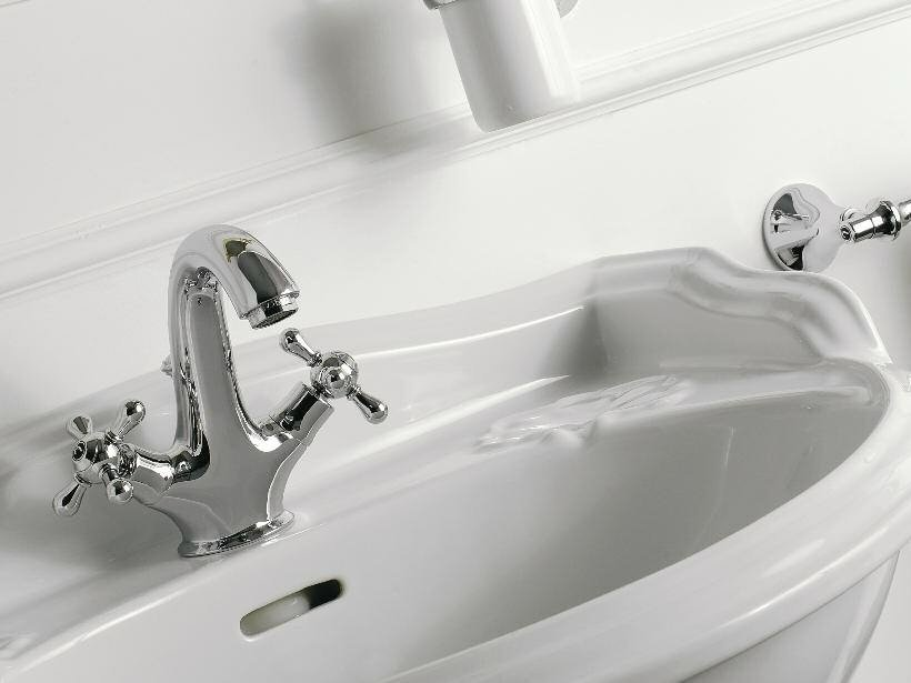 Countertop 1 hole washbasin tap MILLE | 1 hole washbasin tap by ZAZZERI