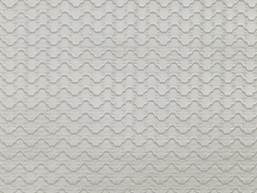 Fire retardant washable pleated Trevira® CS fabric SWING by Dedar