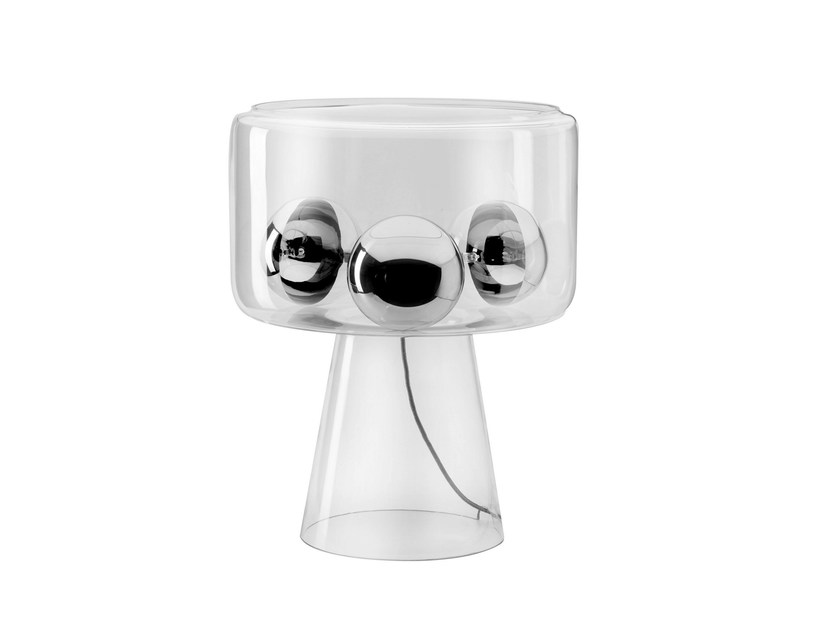LED direct-indirect light table lamp GL350 by Hind Rabii