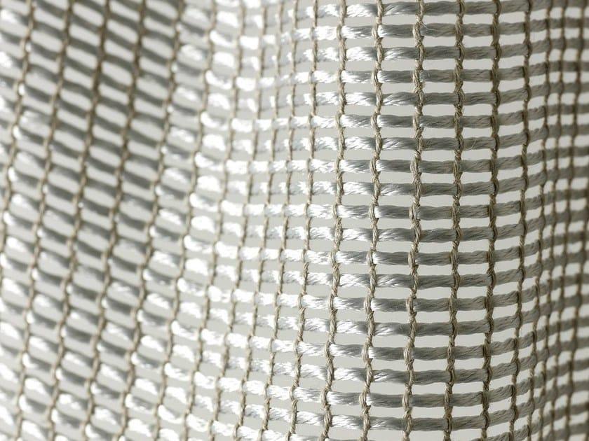 Sheer polyester fabric for curtains ARAMIS by Dedar