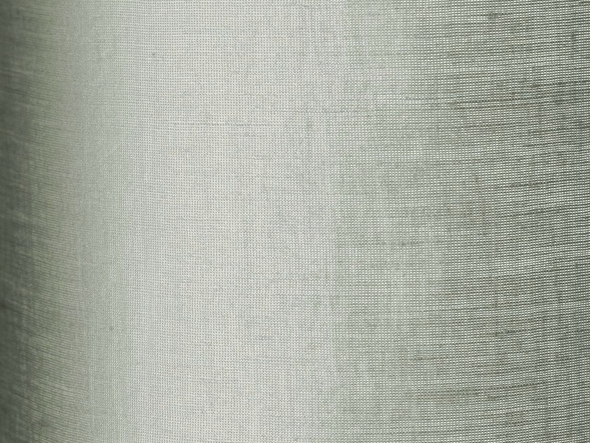 Reversible washable fabric for curtains LUCE by Dedar