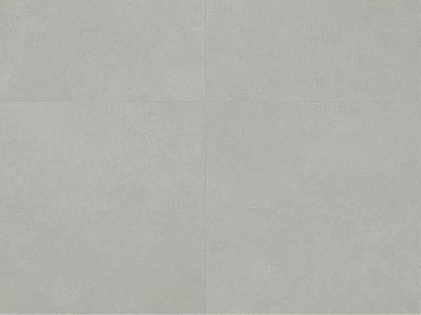 Indoor/outdoor porcelain stoneware wall/floor tiles with concrete effect MATERIA D Grigio by Italgraniti