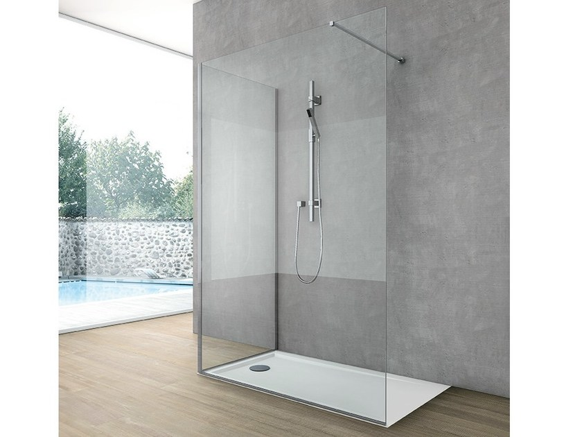 Crystal Shower wall panel SIDE 3 by Gruppo Geromin
