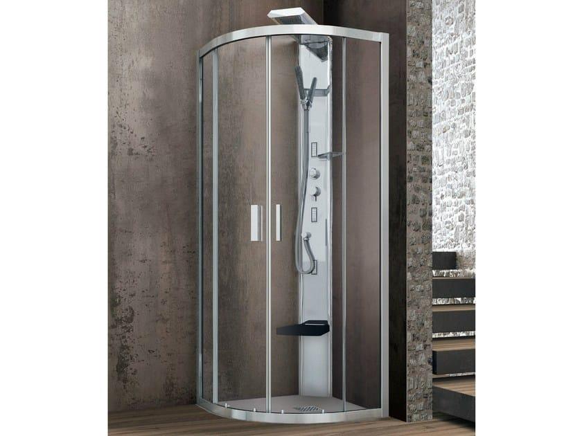 ASTER-T | Box doccia semicircolare