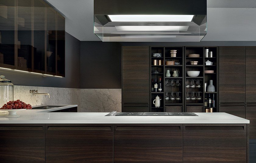 Cucina componibile in rovere MINIMAL By Varenna by Poliform