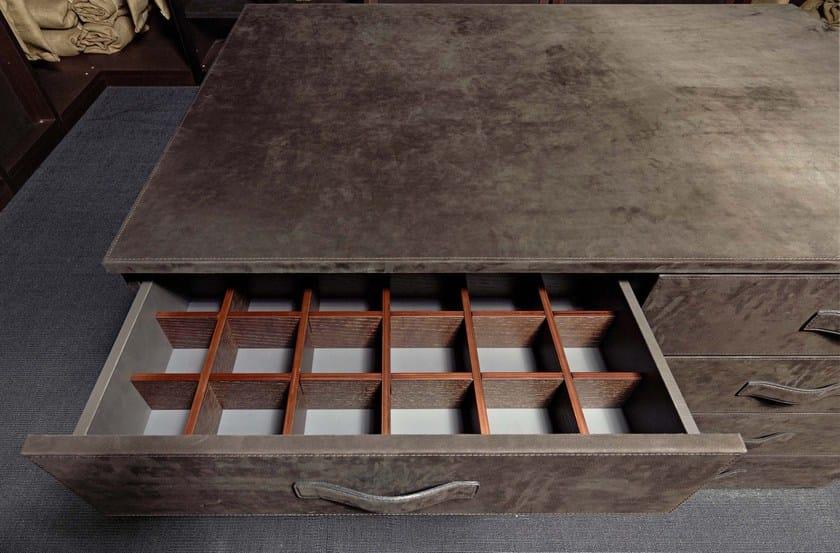 Dettaglio grigli interna cassetto