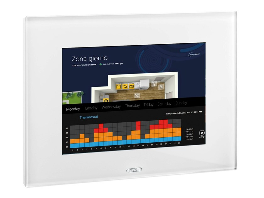 Building automation system interface MASTER ICE by GEWISS