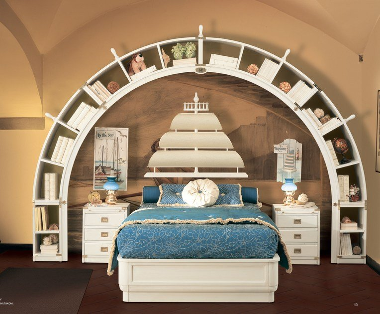 Full size storage bed GALEONE   Bed by Caroti