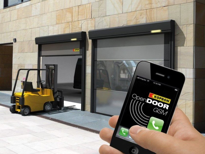 Automation and control system OPEN DOOR GSM by Kopron
