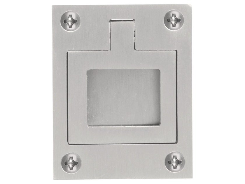 Recessed stainless steel Furniture Handle ONE   Recessed Furniture Handle by Formani