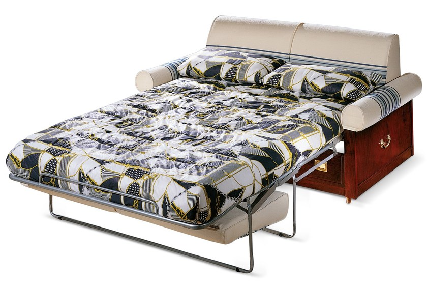 2 seater sofa bed with removable cover 1033 | Sofa bed by Caroti