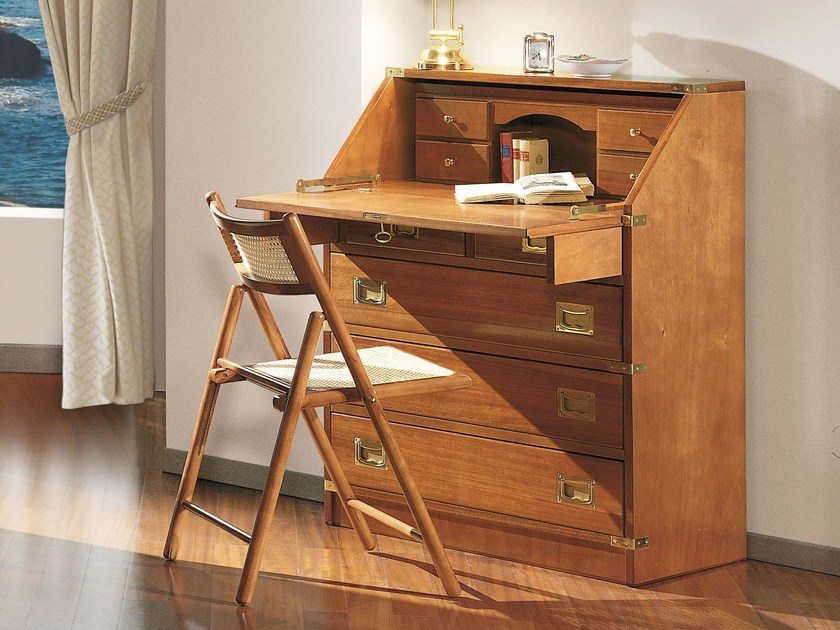 Wooden secretary desk 601 | Secretary desk by Caroti