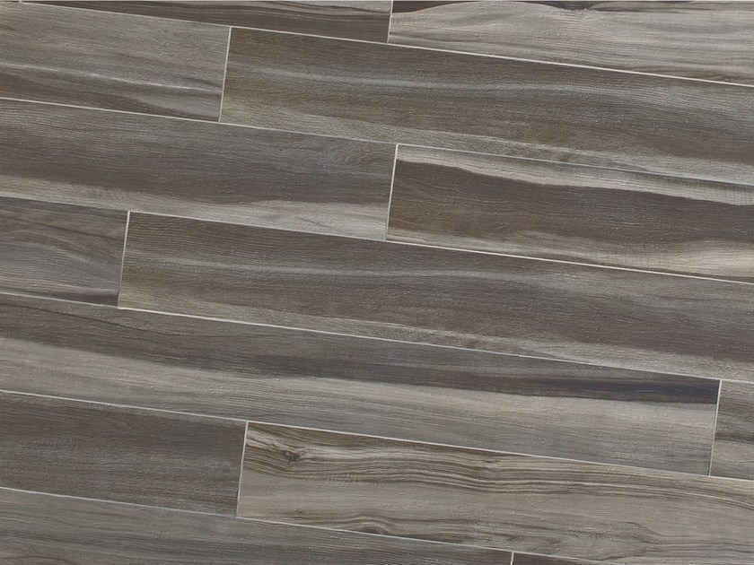Porcelain stoneware flooring with wood effect MAXIWOOD Palissandro Grigio by Italgraniti