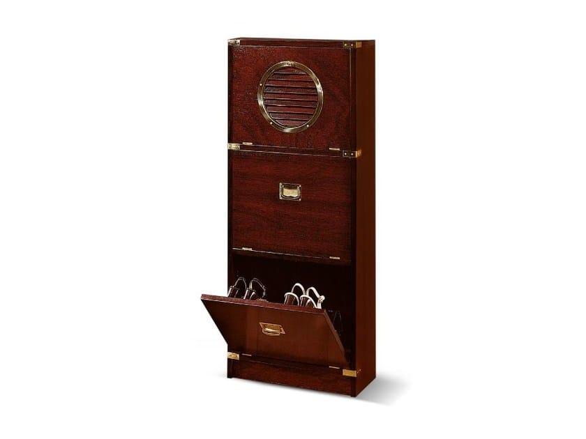 Wooden shoe cabinet 613 | Wooden shoe cabinet by Caroti