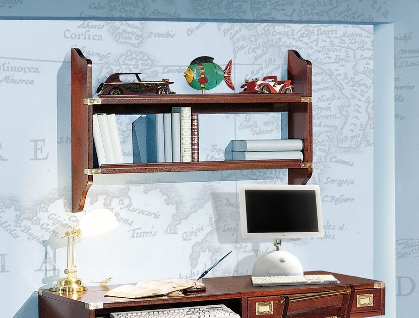 Wooden wall shelf 950 | Wall shelf by Caroti