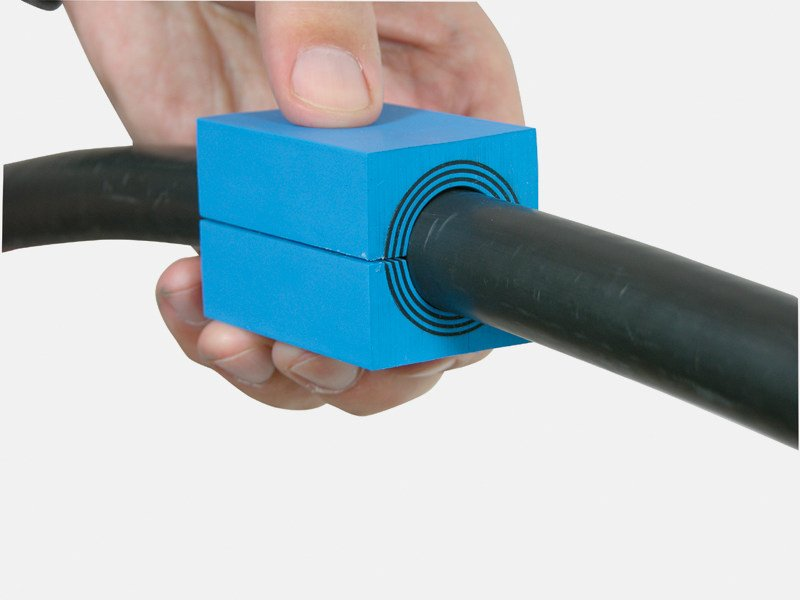 Preformed seal and fitting ROXTEC MULTIDIAMETER™ by Roxtec Italia