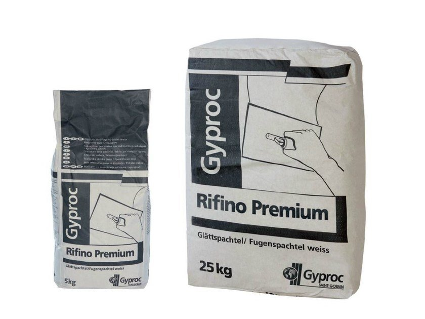 Gypsum and decorative plaster RIFINO PREMIUM by Saint-Gobain Gyproc