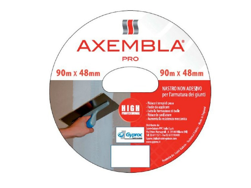 Glass-fibre Steel mesh for base layer for flooring AXEMBLA PRO by Saint-Gobain Gyproc