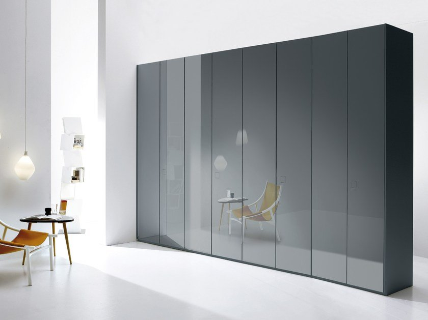 Sectional wooden wardrobe ATLANTE SEVENTY by EmmeBi