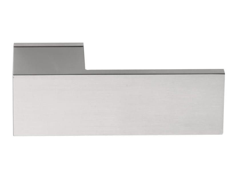 Stainless steel door handle SQUARE | Door handle by Formani