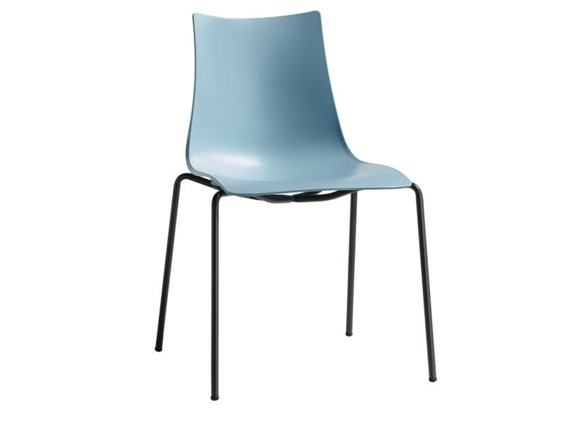Stackable technopolymer chair ZEBRA TECNOPOLIMERO | Chair by SCAB DESIGN