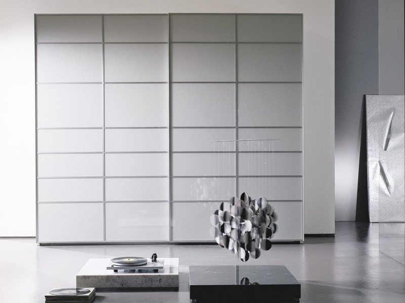 Crystal wardrobe with sliding doors FRAMMENTI by EmmeBi