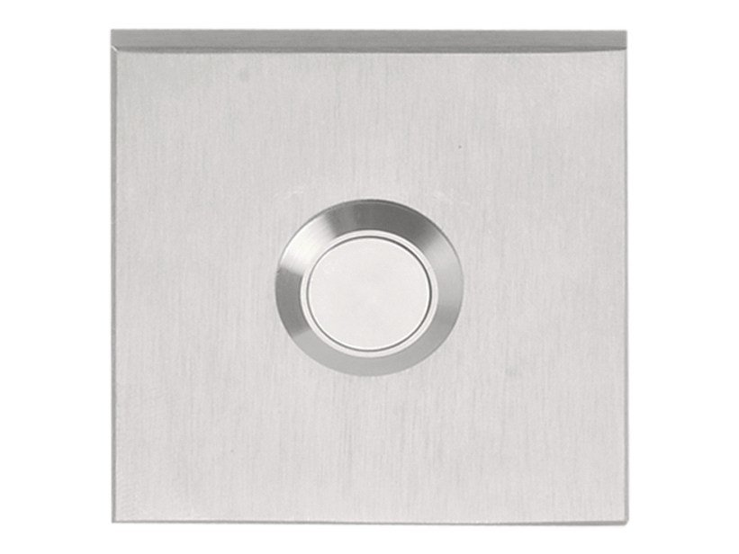 Stainless Steel Doorbell On Square By Formani