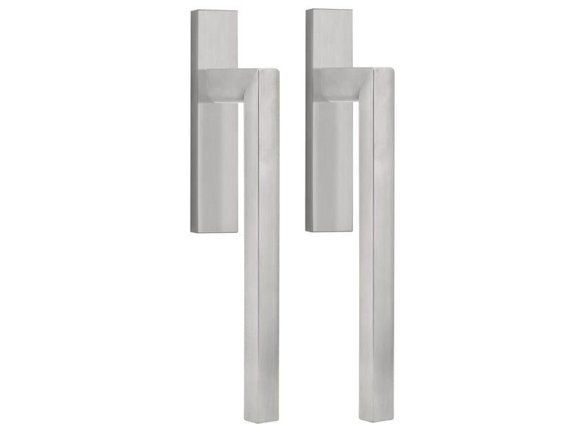 Stainless steel pull handle for sliding doors TWO   Stainless steel pull handle by Formani