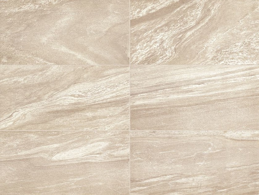 Glazed stoneware flooring with marble effect MINERAL D LIVING Zolfo by Italgraniti