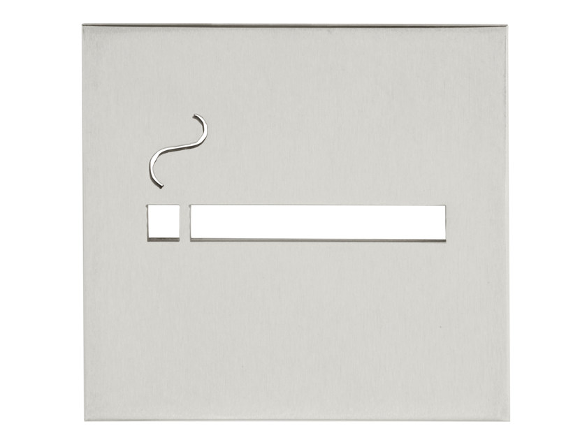 Stainless steel sign SQUARE | Sign by Formani