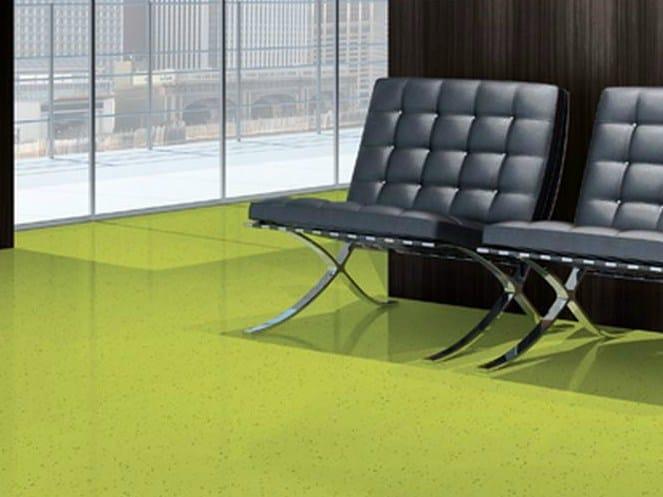 Antibacterial anti-static vinyl flooring TARALAY ELEMENT COMPACT by gerflor