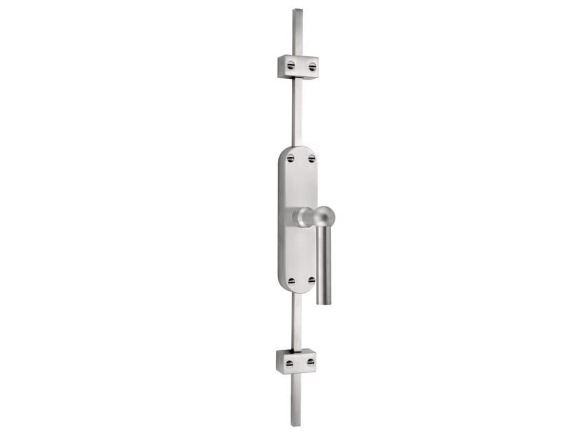 DK stainless steel espagnolette bolt FERROVIA   Window handle on back plate by Formani