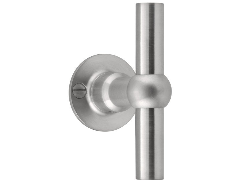Stainless steel Furniture knob FERROVIA | Furniture knob by Formani