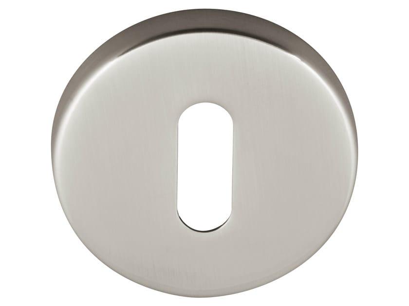 Round brass keyhole escutcheon TIMELESS | Round keyhole escutcheon by Formani