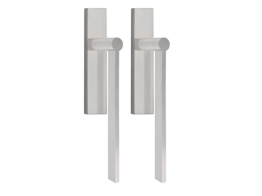 Stainless steel pull handle for sliding doors EDGY   Stainless steel pull handle by Formani