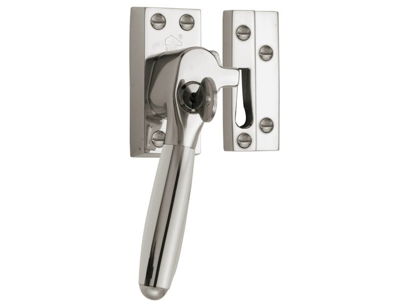 Nickel window handle with lock TIMELESS | Window handle with lock by Formani