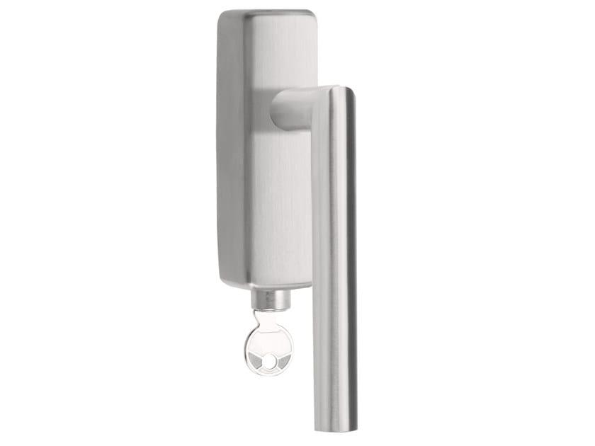 DK stainless steel window handle with lock BASIC   Window handle with lock by Formani