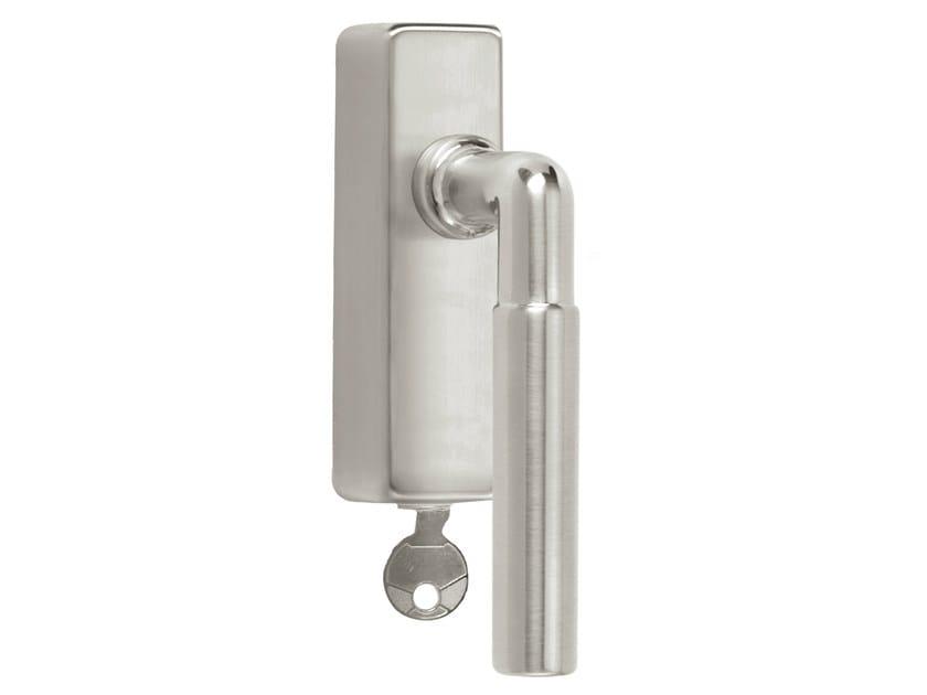 DK nickel window handle with lock TIMELESS 1924 | Window handle with lock by Formani