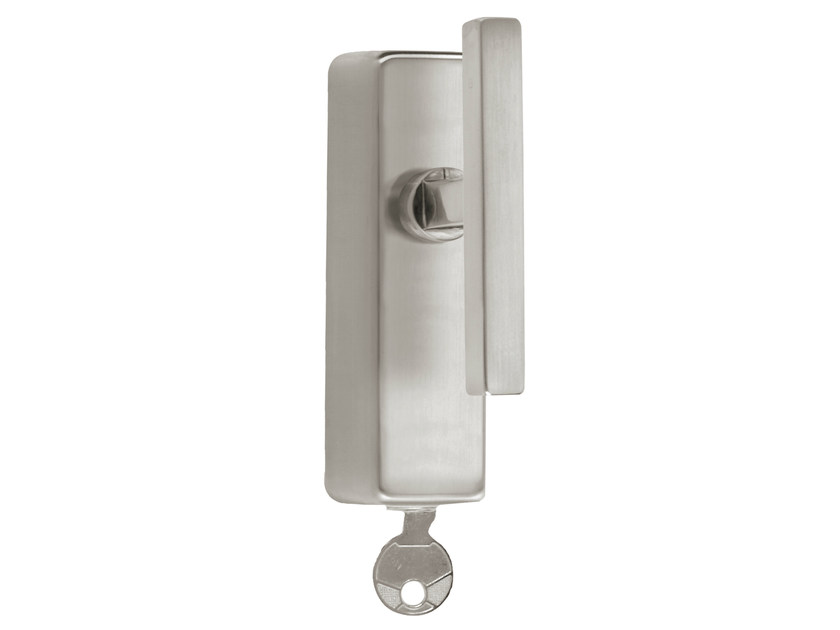 Nickel Cremone handle with lock TIMELESS 1936 | Cremone handle with lock by Formani