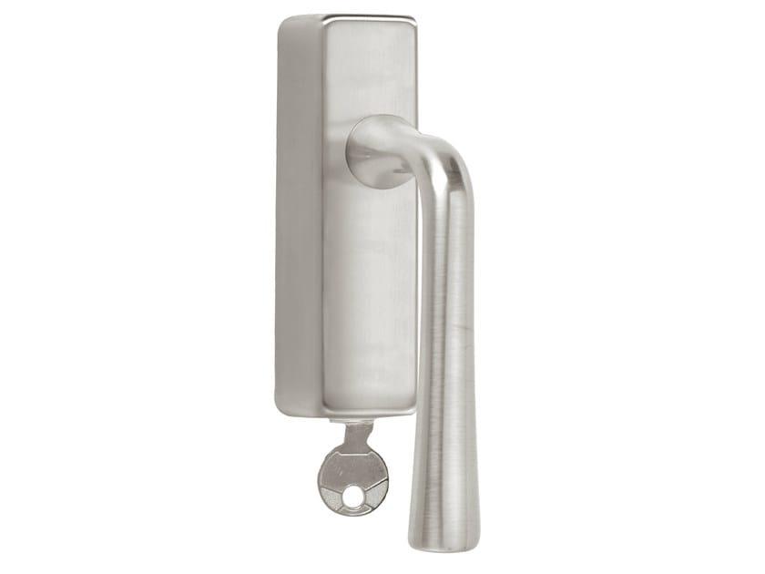 DK nickel window handle with lock TIMELESS 1948 | Window handle with lock by Formani