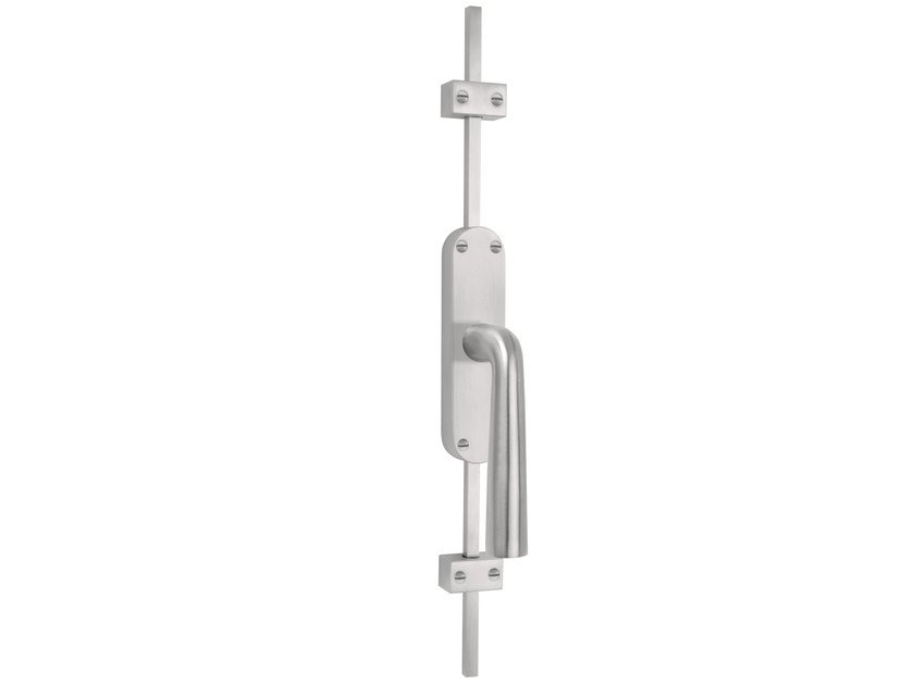 DK stainless steel espagnolette bolt BASIC | Window handle on back plate by Formani