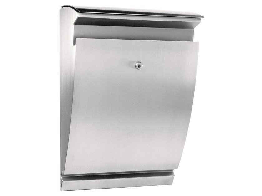 One-sided outdoor stainless steel mailbox ARCTURUS by Formani