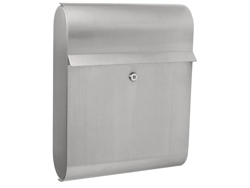 One-sided outdoor stainless steel mailbox ANTARES by Formani