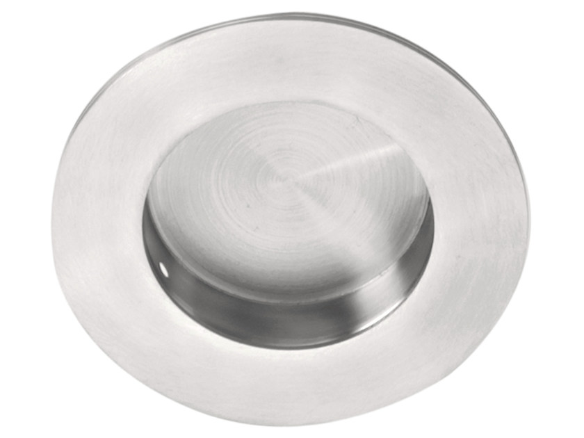 Recessed stainless steel Furniture Handle BASIC | Recessed Furniture Handle by Formani